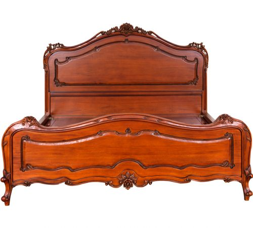 Antique Mahogany Bed