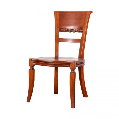 Antique Mahogany Dining Chair 10