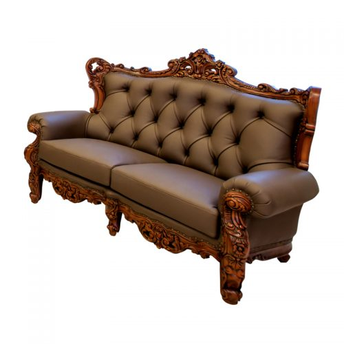 Antique Mahogany Sofa 2S
