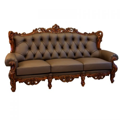 Antique Mahogany Sofa 3S