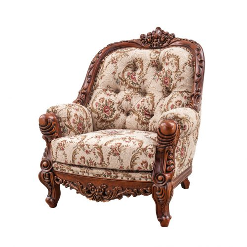 Antique Mahogany Sofa Josephine 1S