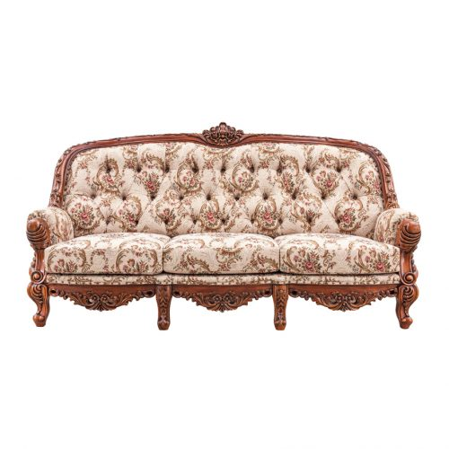 Antique Mahogany Sofa Josephine 3S