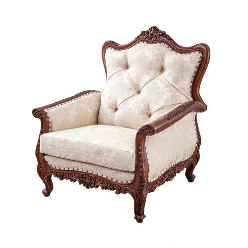 Antique Mahogany Sofa Marzyana 1S
