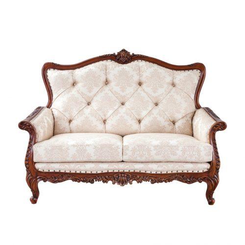 Antique Mahogany Sofa Marzyana 2S
