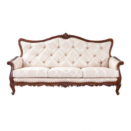 Antique Mahogany Sofa Marzyana 3S
