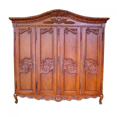 Antique Reproduction Armoire Colibri 4 Door