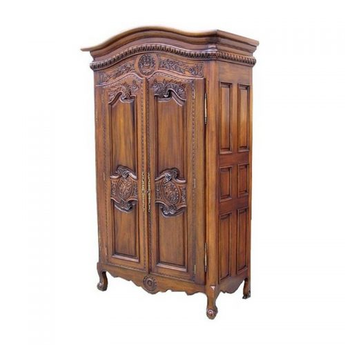 Antique Reproduction Armoire Flower