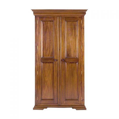 Antique Reproduction Armoire Louis Philippe 2 Door