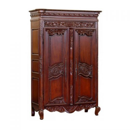 Antique Reproduction Armoire Normande De Mariage.Jpeg