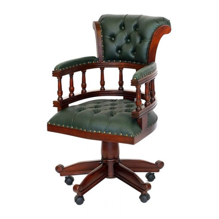 Antique Reproduction Captain Desk Chair