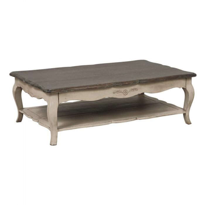 Chateau Coffee Table Antique Grey Washed