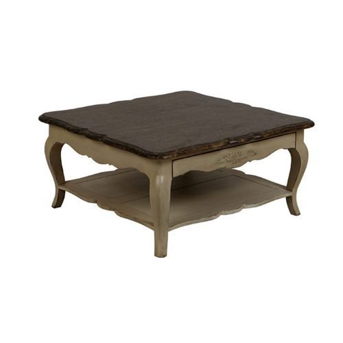 Chateau Coffee Table Square Aged