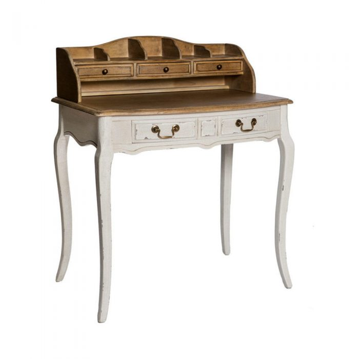 Chateau Desk Beureau White Antique