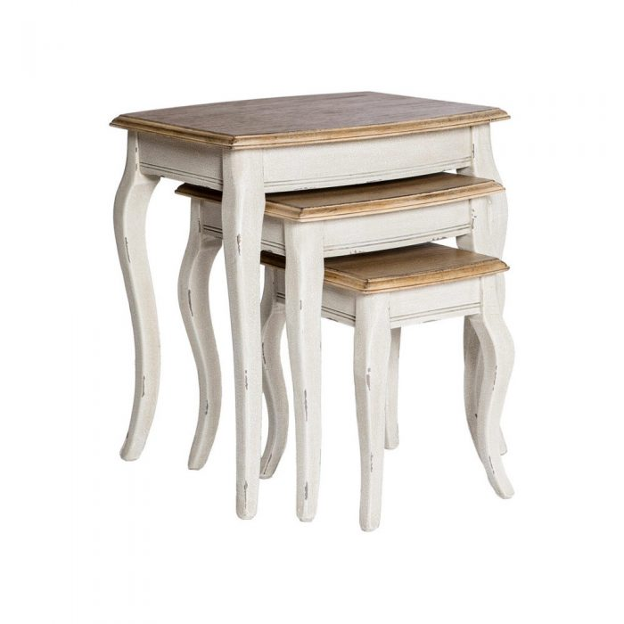 Chateau Nesting Table Antique