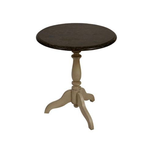 Chateau Round End Table Antique