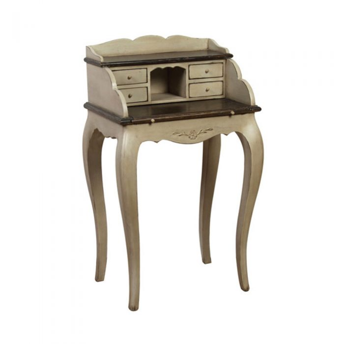 Chateau Small Scretary Desk Aged Grey