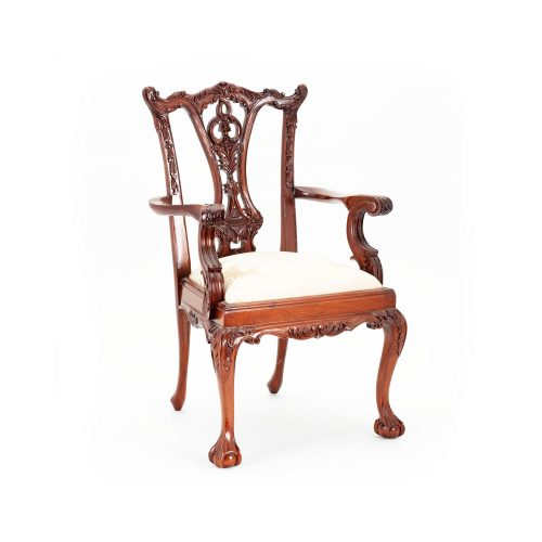 Chippendale Carver Armchair