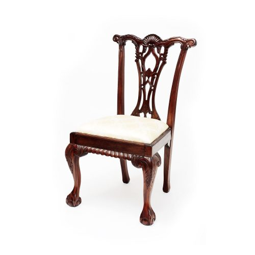 Chippendale Shell Carved Chair