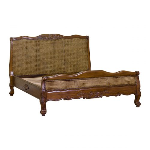 Classic Rattan Bed