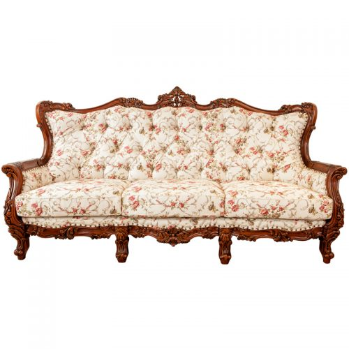 Mahogany Carving Sofa 3S