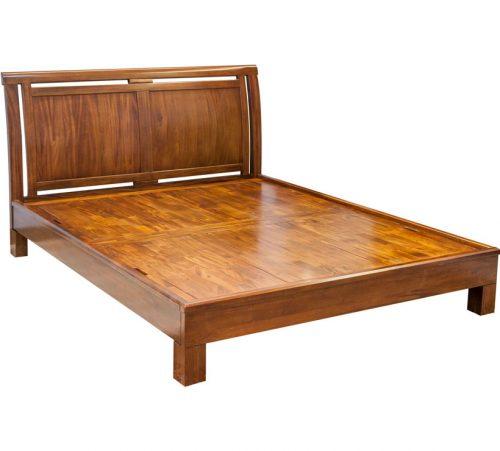 Moden Mahogany Bed