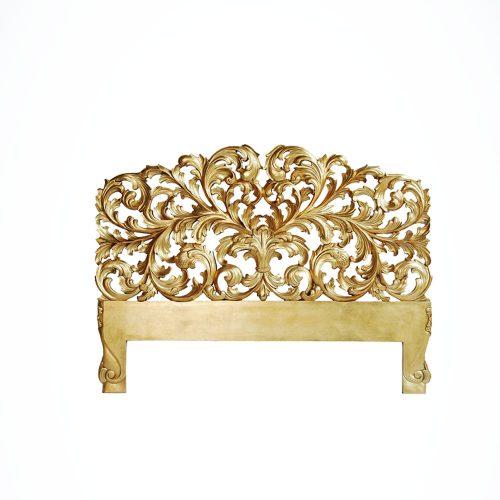 Rococo Headboard Gold Leaf