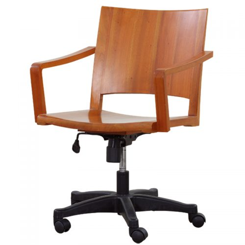 Solid Mahogany Office Chair