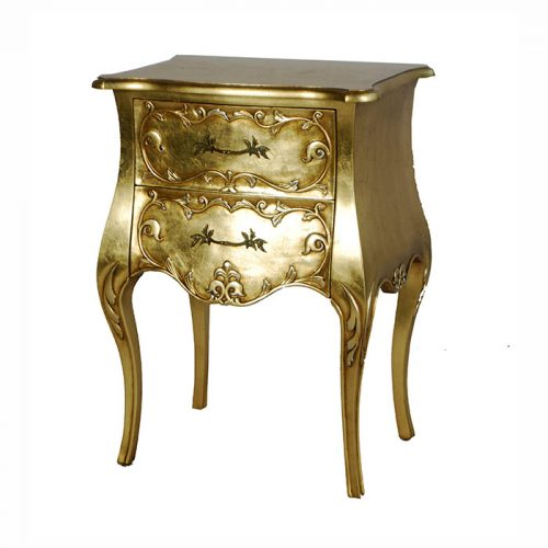 Angela Bedsite Table Gold
