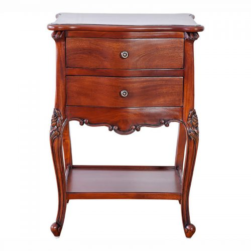 Antique Mahogany Bedside Table