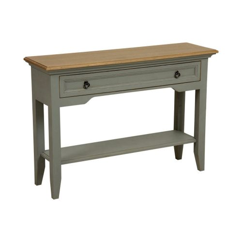 Console Table Aged Grey