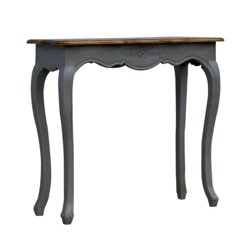 French Style Console Table Grey