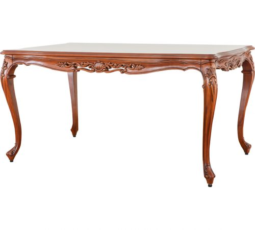 Mahogany Dining Table 012