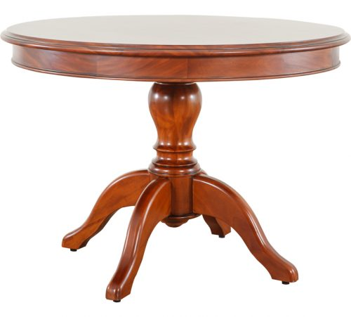 Mahogany Round Dining Table 010
