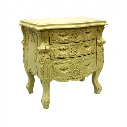 Rococo Bedside Ivory