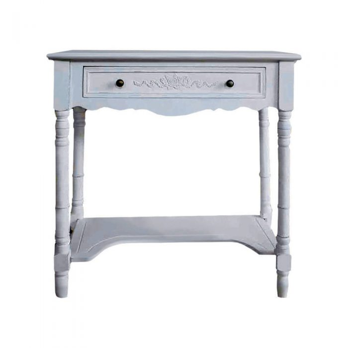 Shabby Chic Console Table 1 Drawer