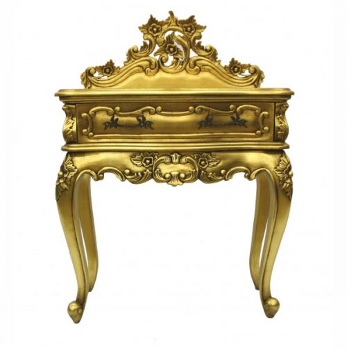 Wallace Bedside Table Gold