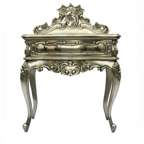 Wallace Bedside Table Silver