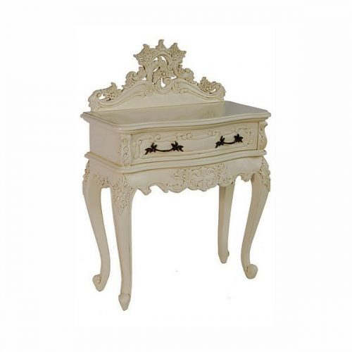 Wallace Bedside Table White